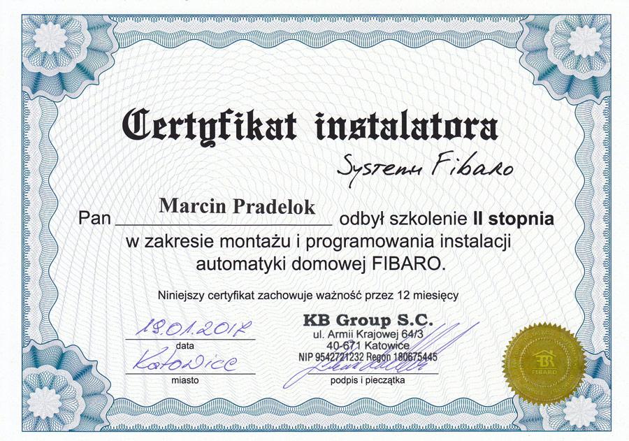 Instalator Fibaro